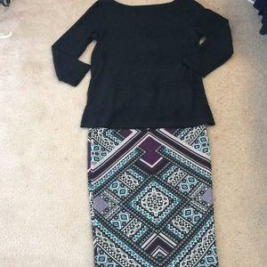 Dresses & Skirts - Super pretty pencil skirt!